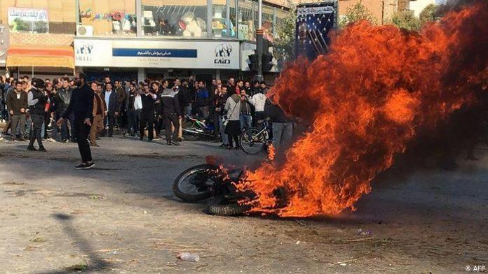 احتجاجات البنزين في إيران